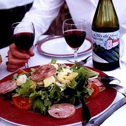 Salade Lyonnaise (Sausage and Potato Salad)