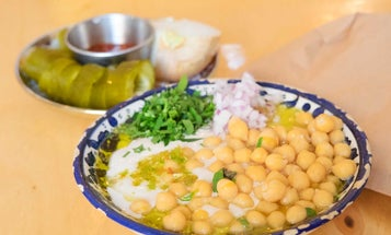 What Goes Into Making Israel's Top Bowl of Hummus