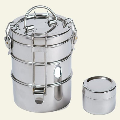 3-Tier Stainless Steel Food Carrier