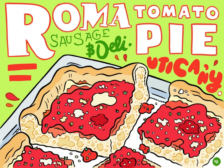 Never Tried Tomato Pie? Then Get Yourself to Utica Right Now