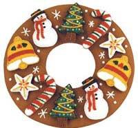 Cookie Wreath Bake Set