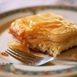savory phyllo pastries