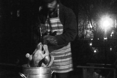 Beyond Latkes: A Hanukkah Turkey Fry