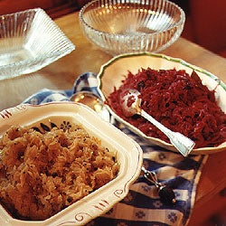 Red Cabbage with Caraway Seeds