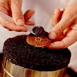Serving Caviar