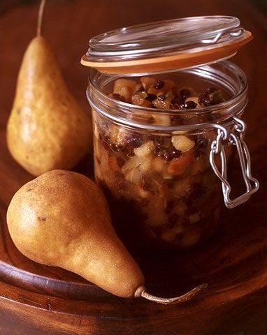 Pear and Currant Chutney