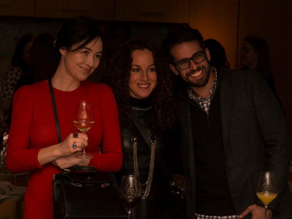 Tarajia Morrel, Melanie Dunnea (of My Last Supper), and deputy editor Yaran Noti