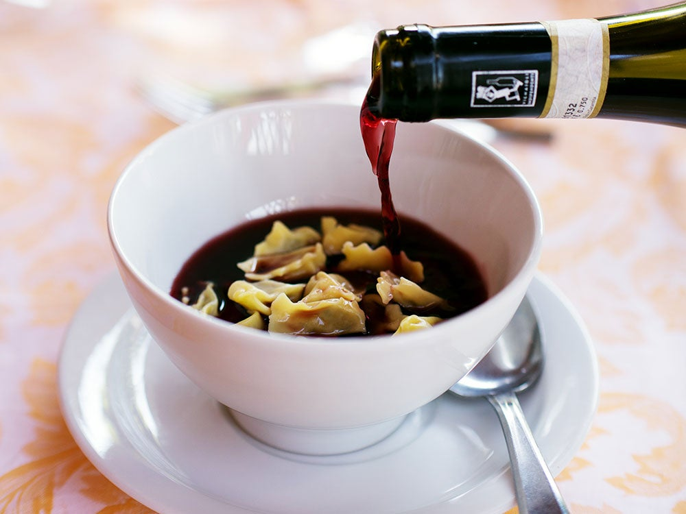 This Region of Italy Sauces Their Pasta With Wine