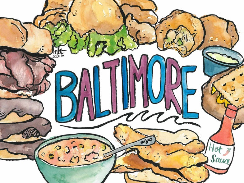 Crab, Pit Beef, and Berger Cookies: The Essential Snacks of Baltimore