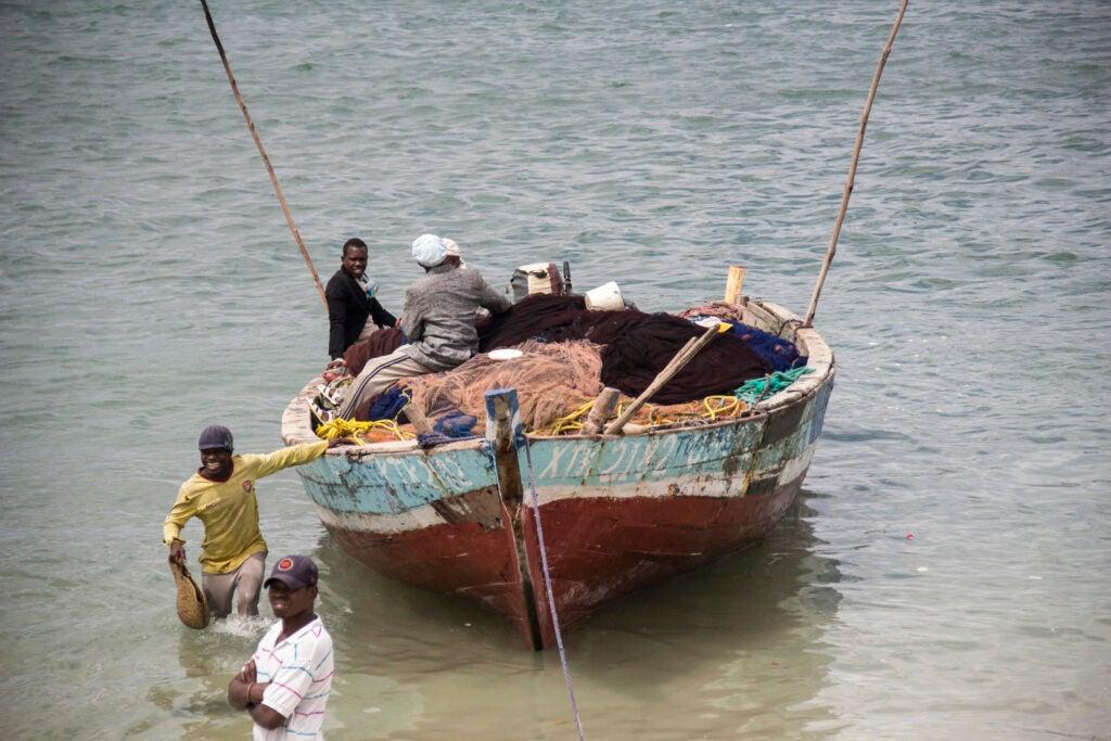 Fishing in Dar Es Salaam