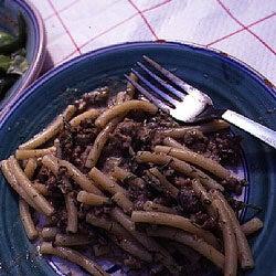 Ziti with Sausage and Fennel (Ziti chi Sosizza e Finucchieddi)