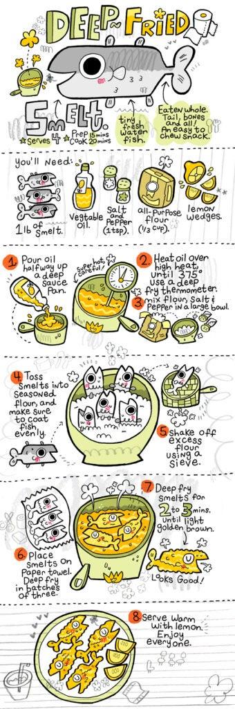 Deep-Fried Smelt comic strip