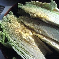 Using Chinese Cabbage