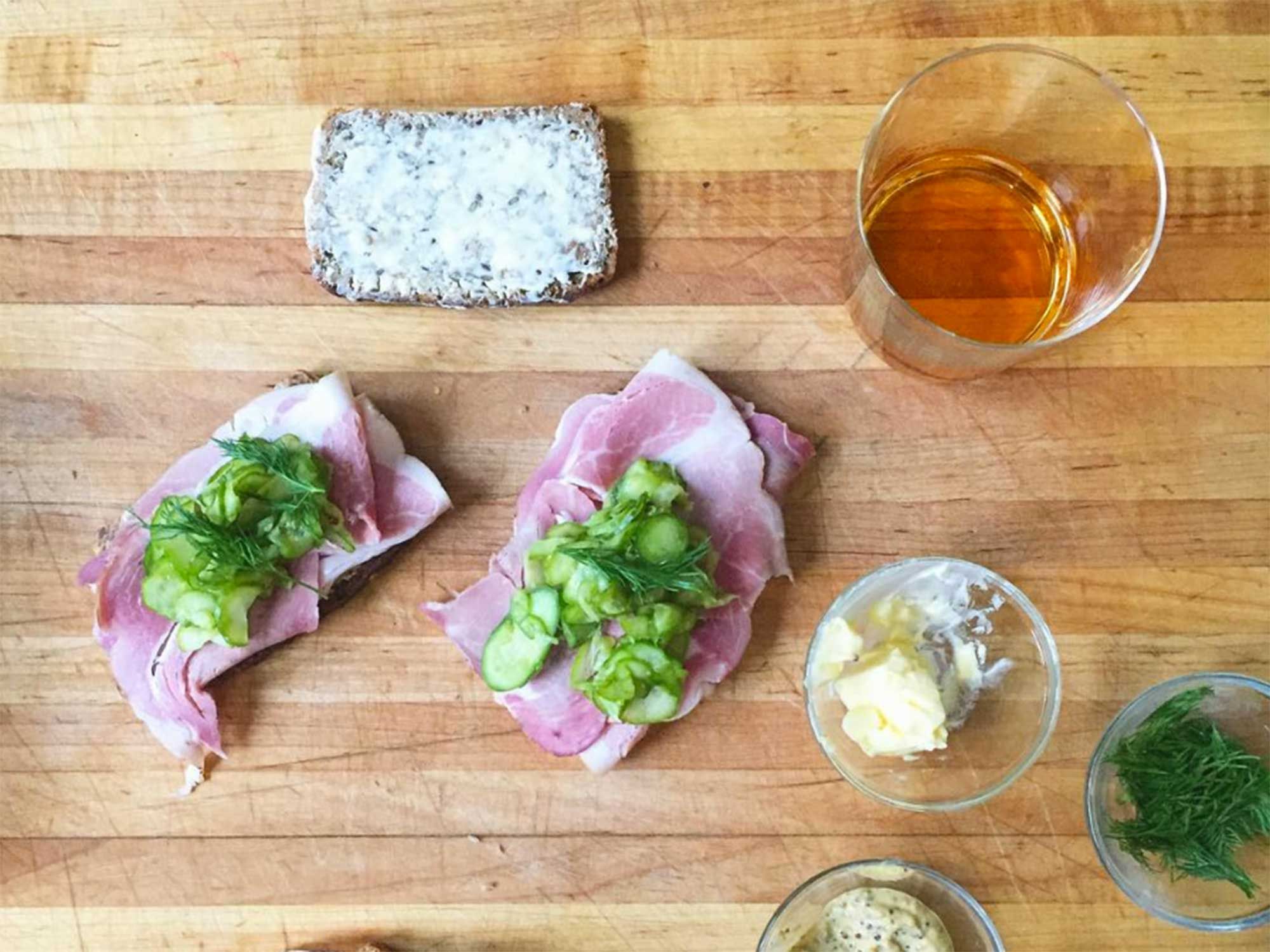 This Sandwich is a Whiskey Lover's Dream Come True
