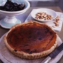 Pumpkin Tart with Prunes