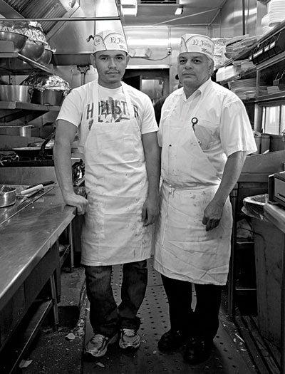 Cooks at El Tepayac