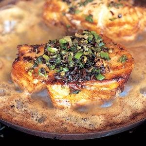 Burnt-Scallion Fish
