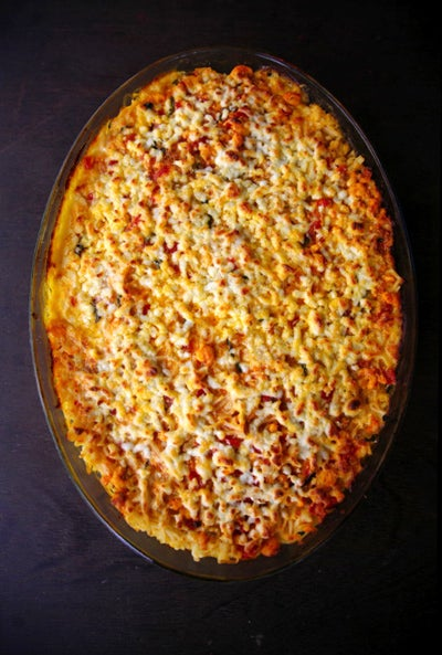 Pasta and Shrimp Casserole (Camusclim)