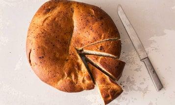 My Big Fat Greek New Year's Bread