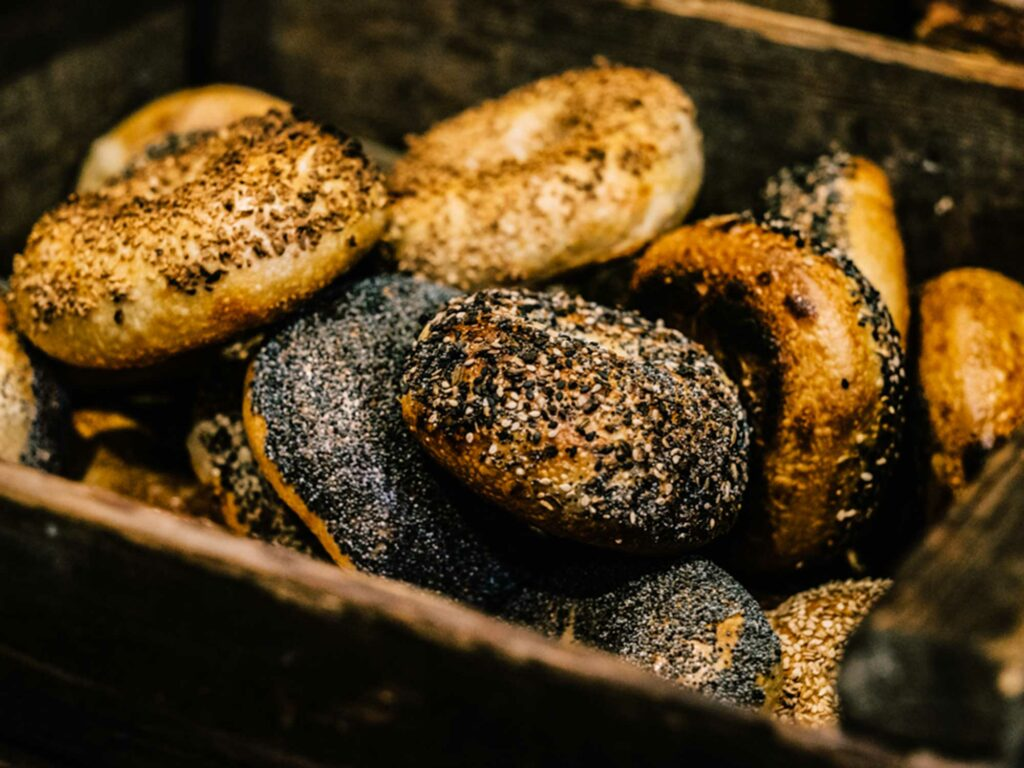 Forage Market Bagels Box