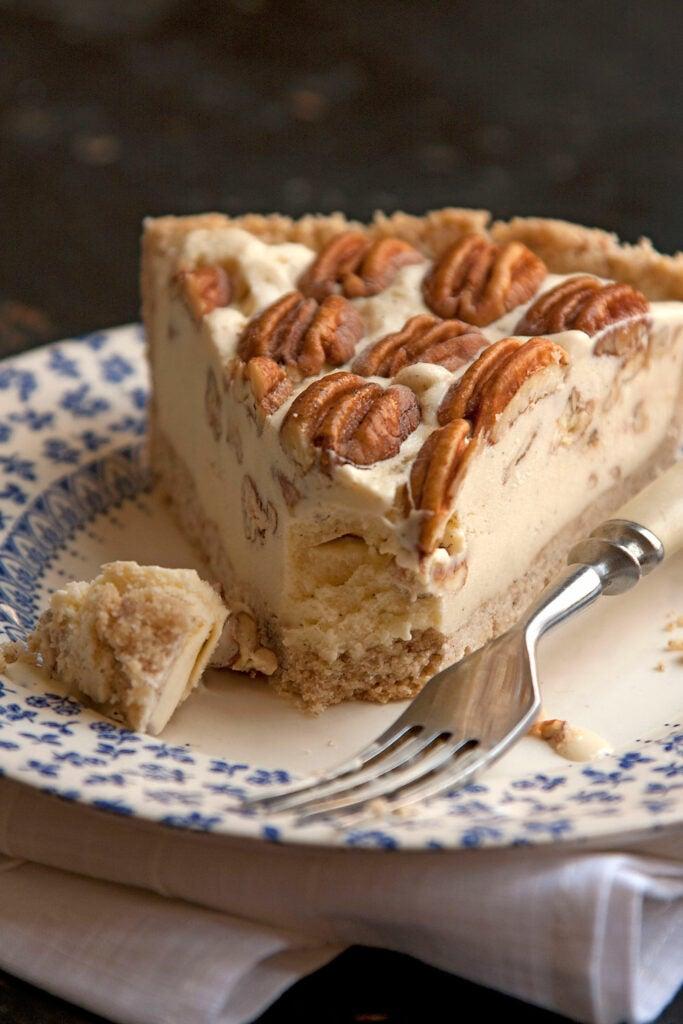 Pecan Pie Ice Cream Pie