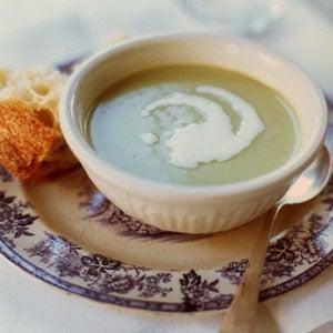 Cold Cream of Fava Soup