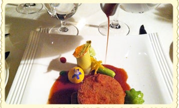 Postcard: Getting Sauced at the James Beard House