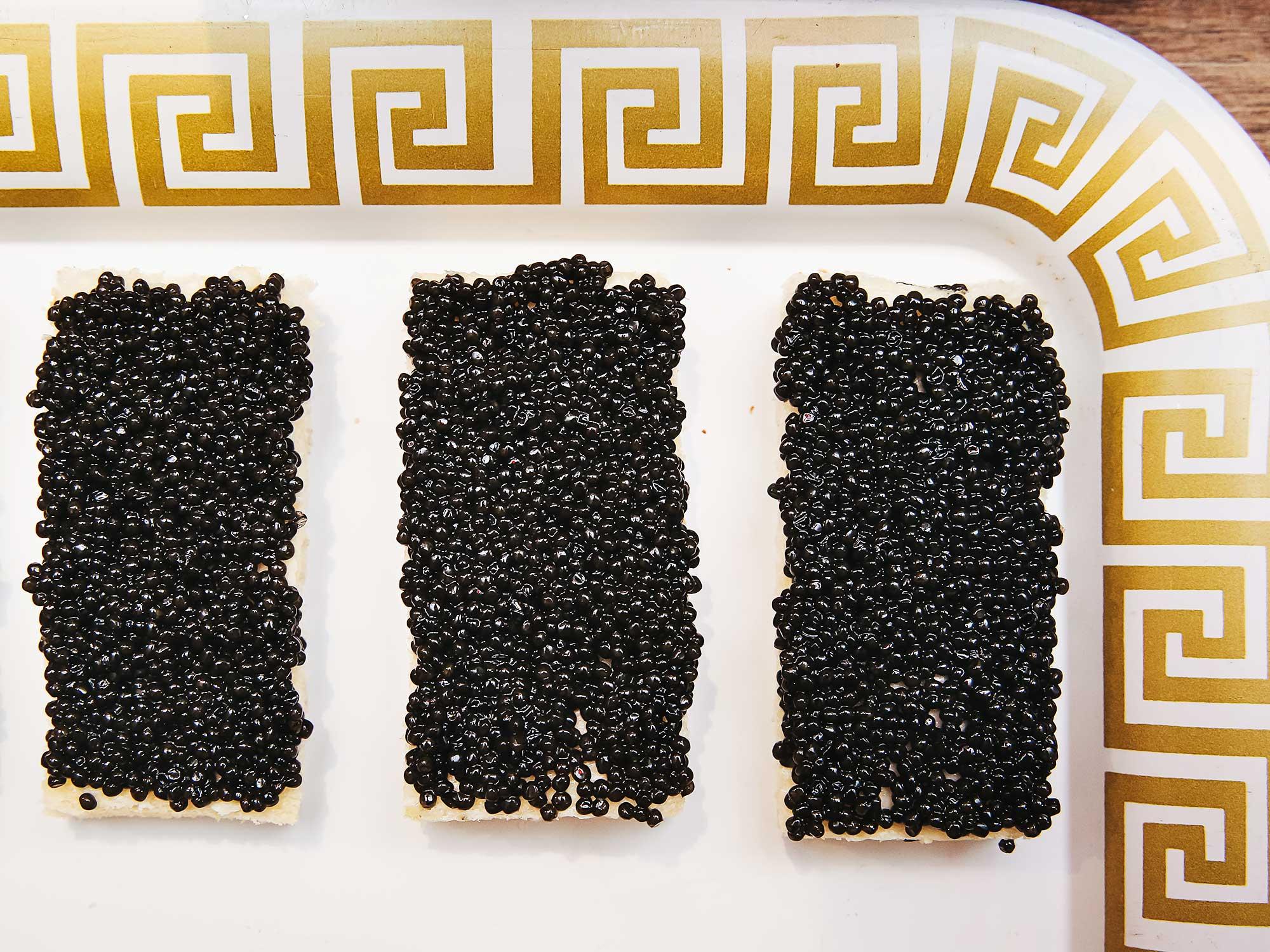 Caviar, Russian party