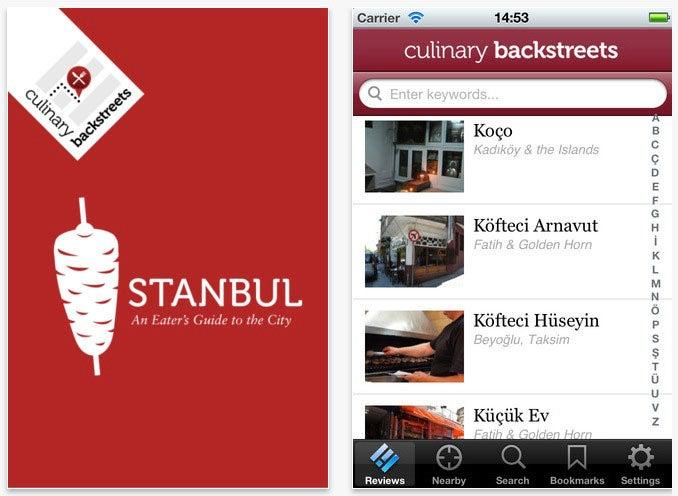 Culinary Backstreets: Istanbul