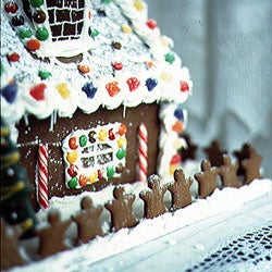 The Gingerbread House Is Reconstructed—Again