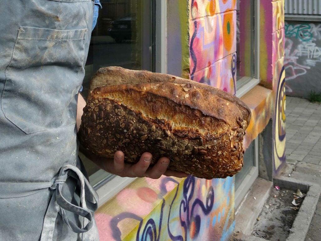 Iceland Barley Bread