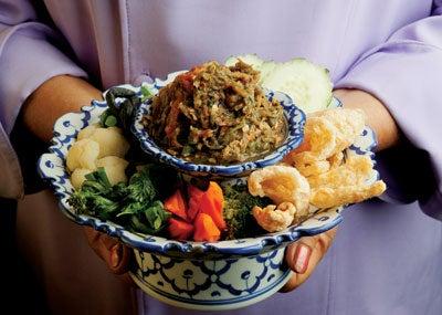 Nahm Prik Noom (Thai Chile Dip)