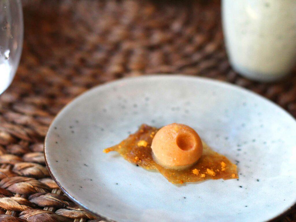 Chicken Skin Peanut Sorbet