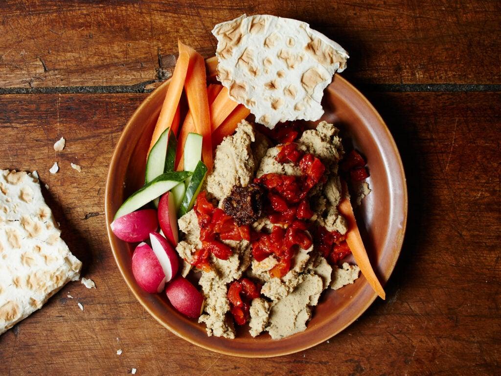 Black Eyed Pea Hummus, Senegalese Thanksgiving