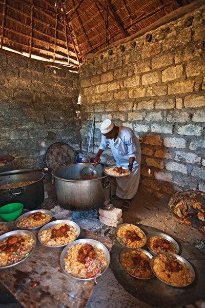 Preparing an East African Feast