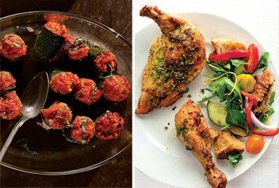 Menu: An August Farmers' Market Feast
