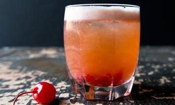 Friday Cocktails: Alexis' Bordeaux Sour