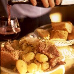 Petit Salé aux Pommes de Terre (Salted Pork with Potatoes)