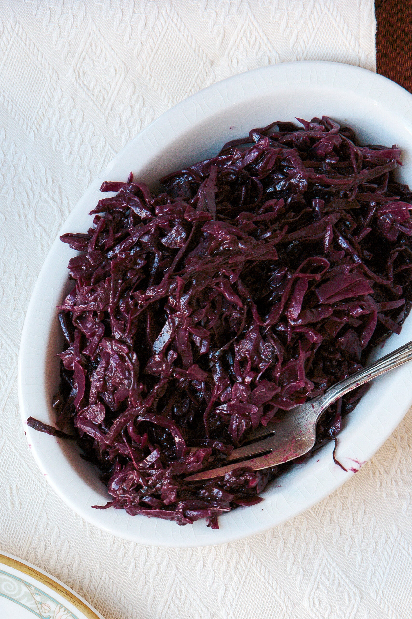 Spiced Cabbage with Blueberries (Kryddað Rauðkál með Bláberjum)