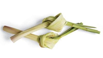 Tying Lemongrass
