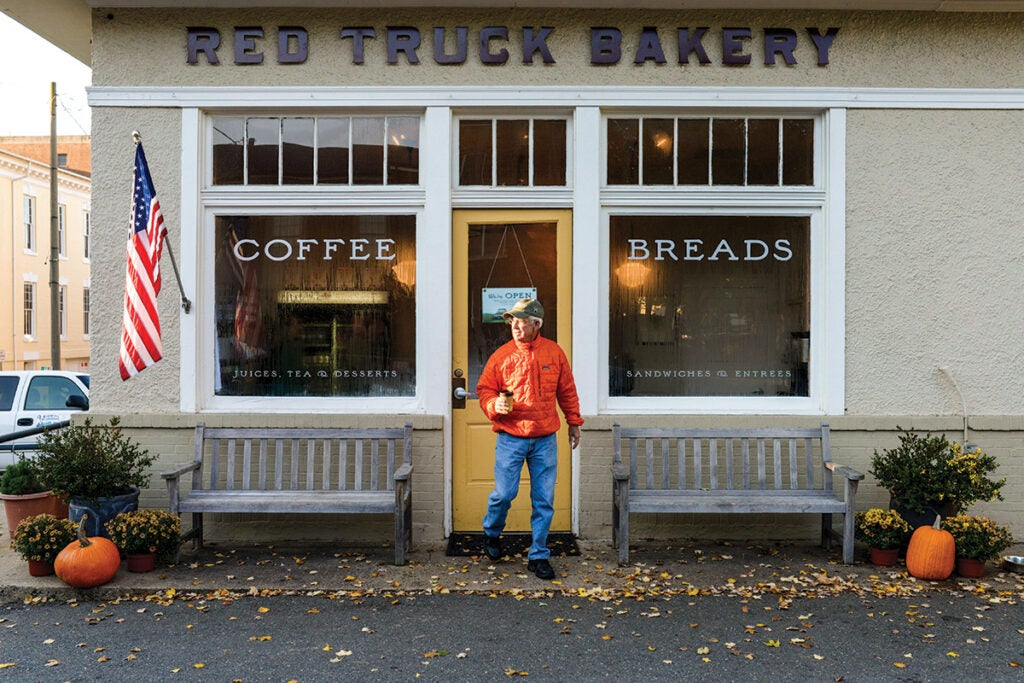 Red Truck Bakery Patron