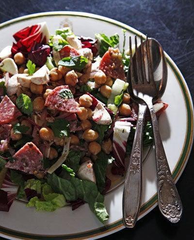 Leon Salad (Italian Chopped Salad)