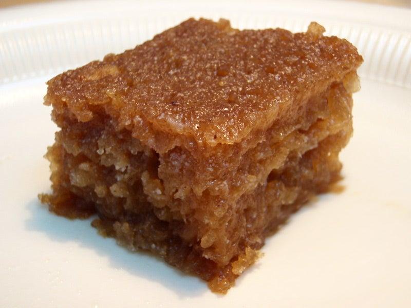 Cayman Cassava Cake (Heavy Cake)
