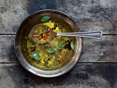 Herb and Chile Oil