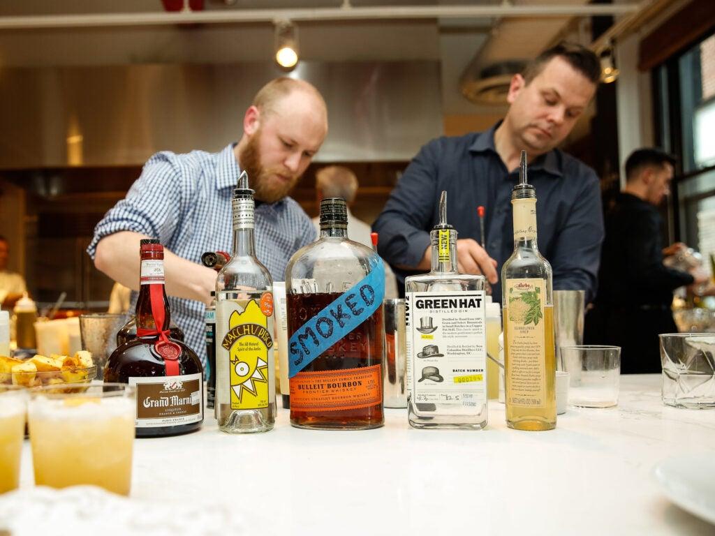 Cocktail hour, courtesy of Stefan Trummer cocktails