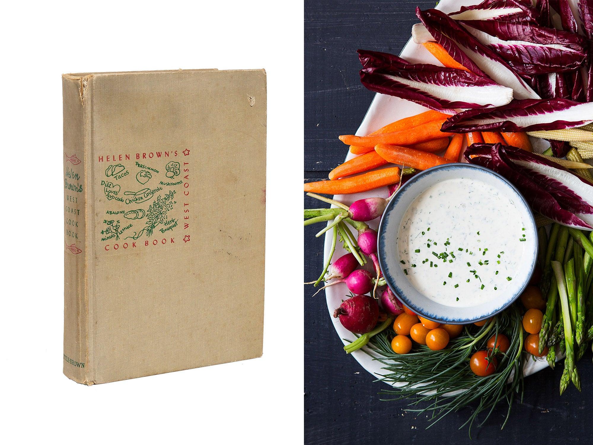 helen brown west coast cookbook green goddess recipe