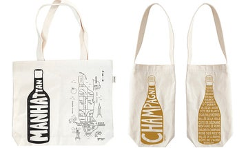 One Good Find: Canvas Wine Totes