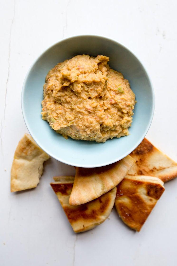 Garlic Scape Hummus