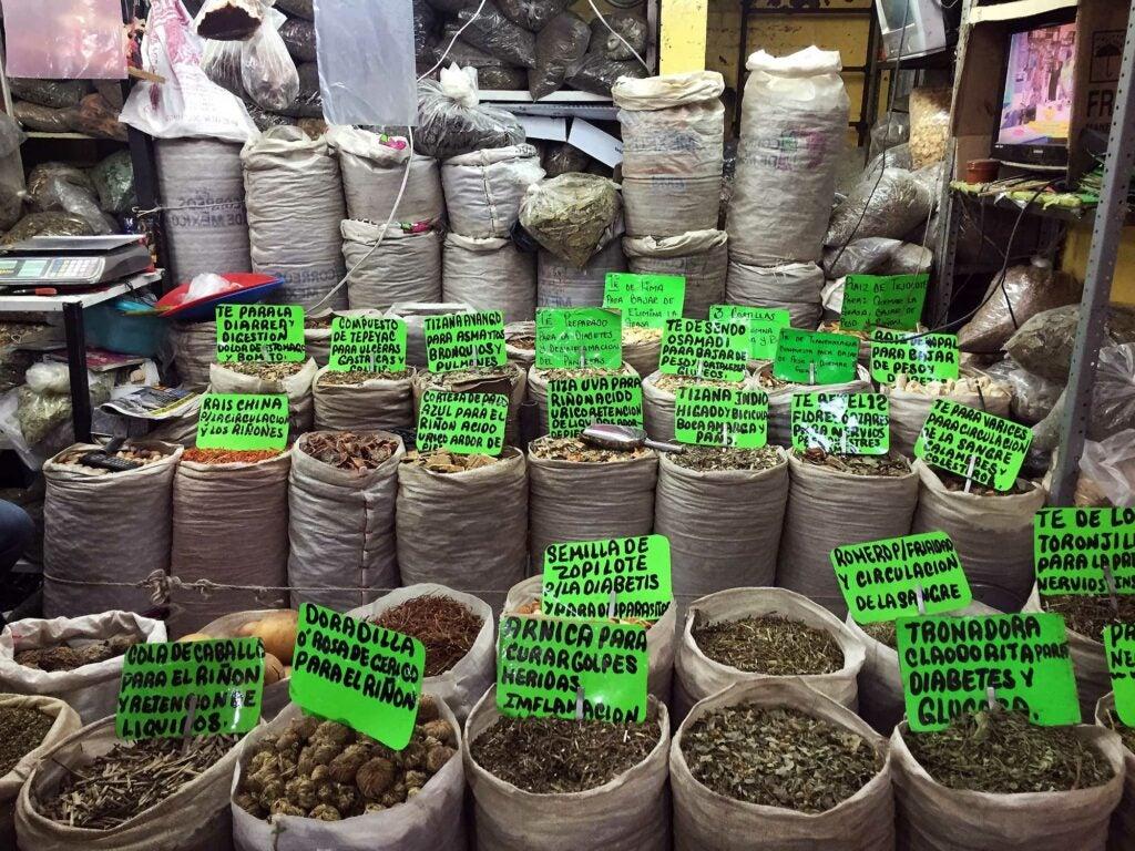 Mercado Merced Herbal Remedies