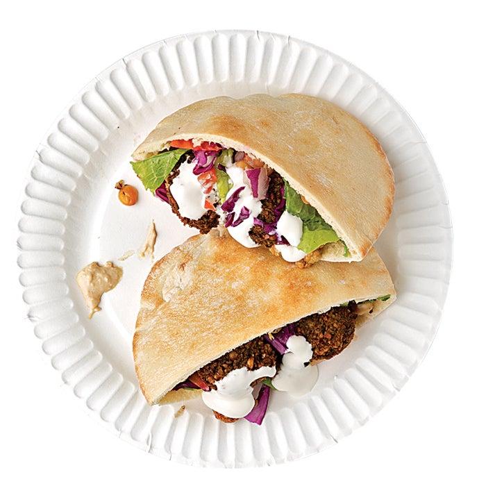 global food, travel, lunch, falafel, tel aviv, sandwich